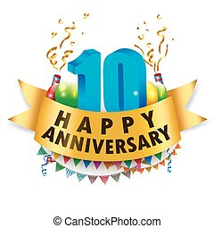 Happy 10th Anniversary Celebration