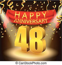 Happy 48th Anniversary celebration