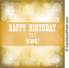 Happy birthday sign design backgrou