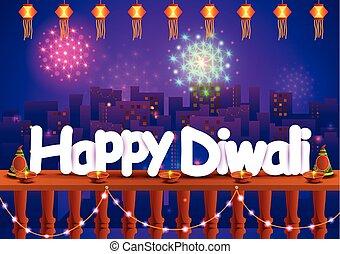 Happy Diwali wallpaper background