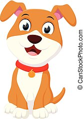 Happy Dog cartoon