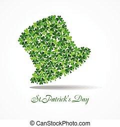 Vector illustration of Happy Saint Patrick's Day Stock Vector