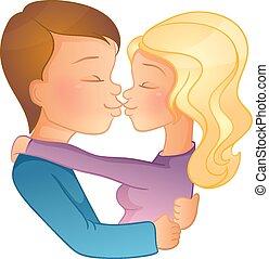 Happy Valentine's day, couple image