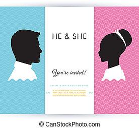 He & She