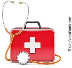 healthcare concept - Vector illustration of healthcare ...