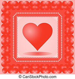 Vector illustration of heart.