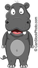 hippopotamus cartoon