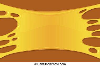 Vector illustration of honey splash.