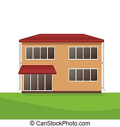 Vector Illustration of house