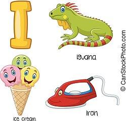 I alphabet