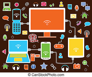 Icons of the social network