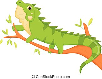 iguana cartoon