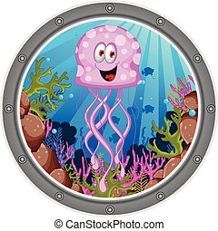 jellyfish cartoon