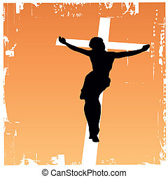 jesus christ - vector illustration of jesus christ