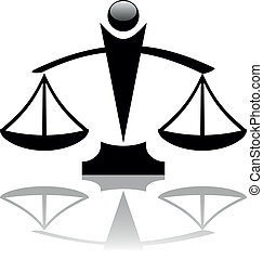 justice scales icon