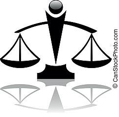 justice scales icon