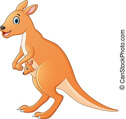 Kangaroo cartoon
