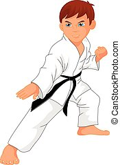 karate boy cartoon