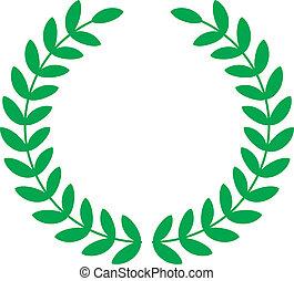 laurels - Vector illustration of laurels
