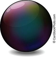Lens Ball - Vector Illustration Of Lens Ball