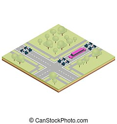 Vector Illustration Of Limousine Car