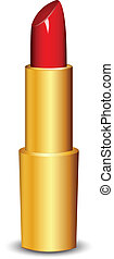 Vector illustration of lipstick