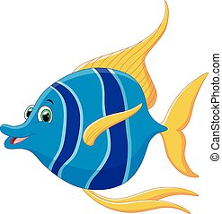 little fish cartoon