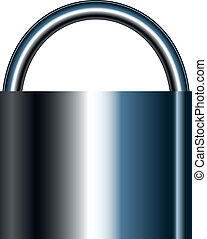 Vector illustration of lock