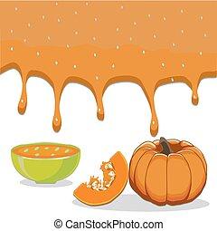vegetable yellow pumpkin