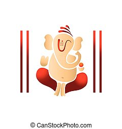illustration of lord ganesh