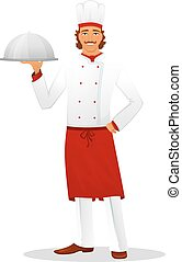 Male chef in uniform
