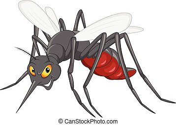 mosquito cartoon