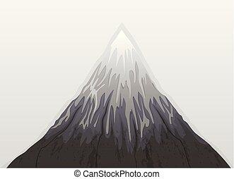 Mountain Fuji Snow