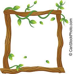 Natural Frame - vector illustration of Natural Frame
