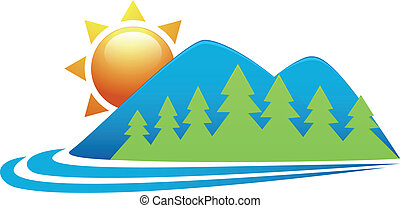 Nature icon  - Vector illustration of Nature icon