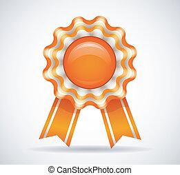 Orange medal