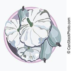 Vector illustration of Pattinsonon on white background