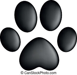 Paw Prints - Vector illustration of Paw Prints