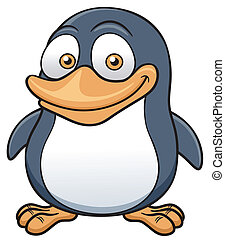 Penguin - Vector illustration of Penguin cartoon