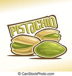 Vector illustration of pistachio