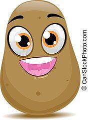 Potato Mascot