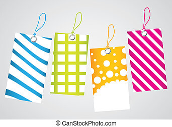 Vector illustration of price tag