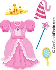 Princess Accessories Elements