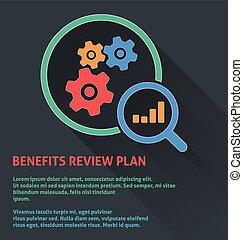 Benefits Review Plan Icon