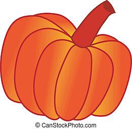 vector illustration of pumpkin