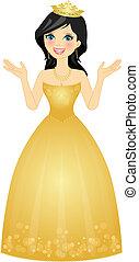 illustration of queen - Vector illustration of queen