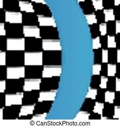 Racing Flag Vector Background Desig