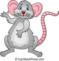Rat Cartoon - Vector Illustration Of Rat Cartoon