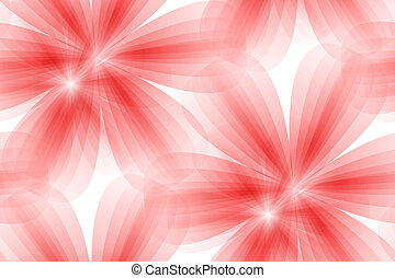 red floral seamless background
