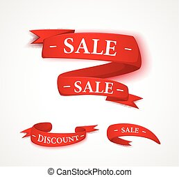 Red papper sale ribbon
